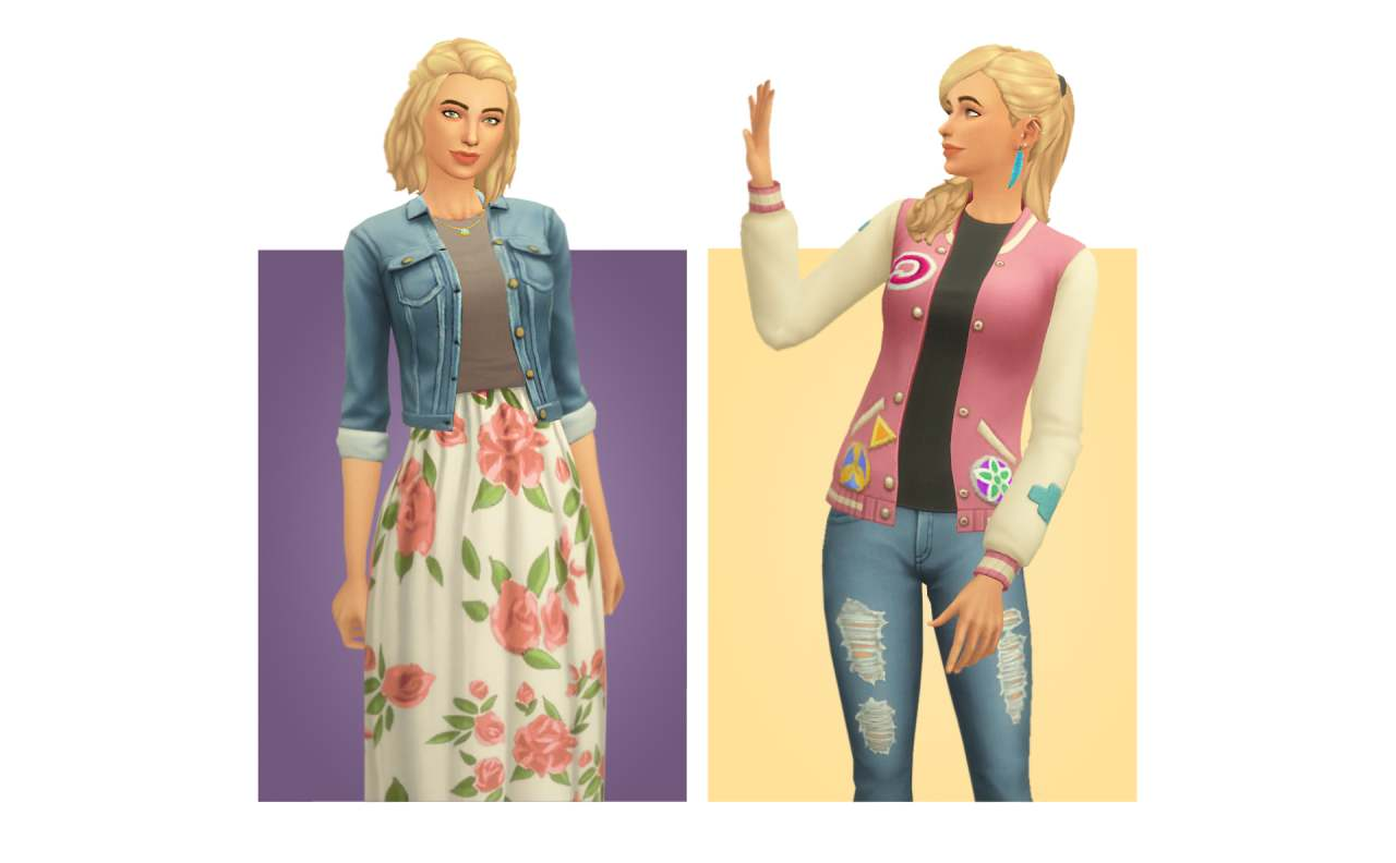 Коллекция одежды - Accessory Jackets & Shirts