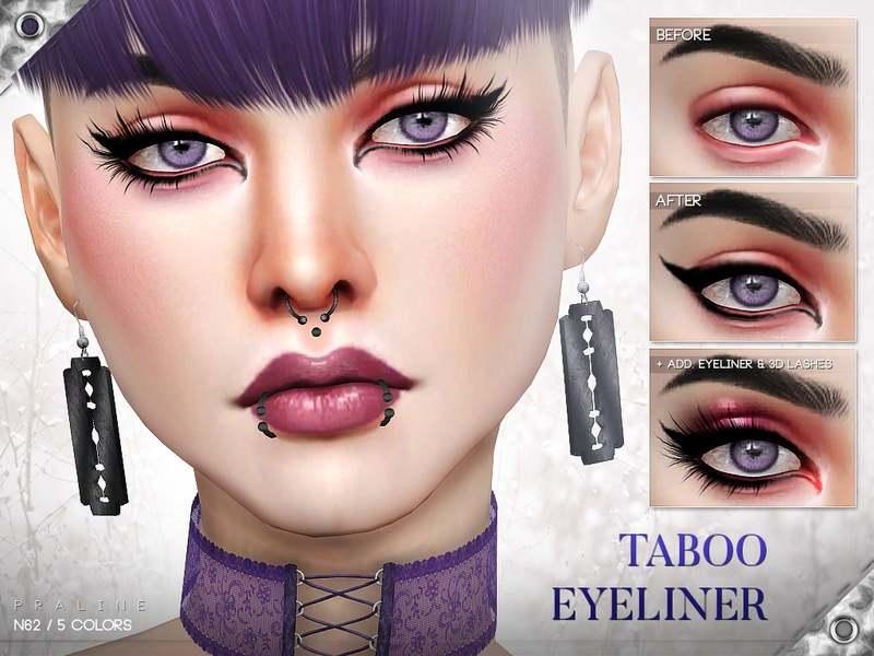Подводка для глаз - Taboo Eyeliner N62