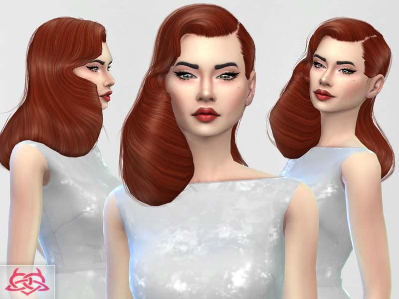 Прическа - Dita Von Teese hair 2