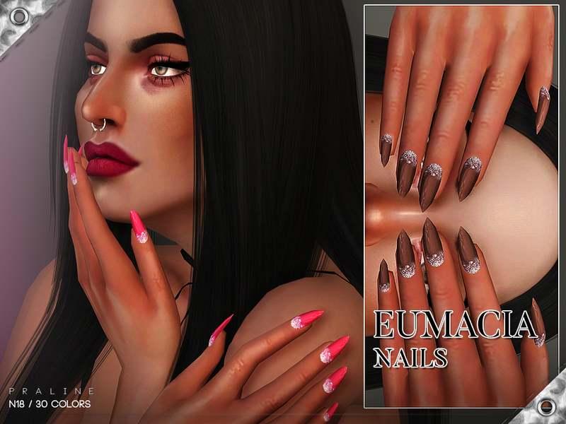 Маникюр - Eumacia Nails N18