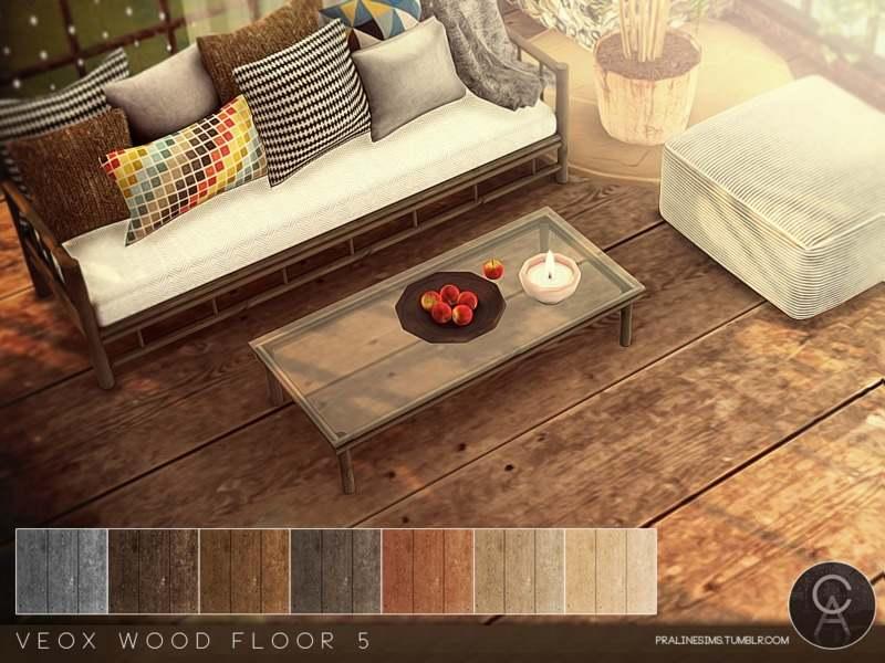 Напольное покрытие - VEOX Wood Floor 5