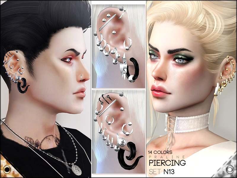 Пирсинг сет - Piercing Set N13