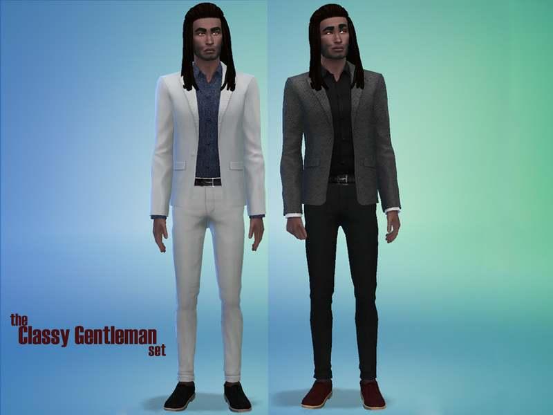 Набор одежды и обуви - The Classy Gentleman Set