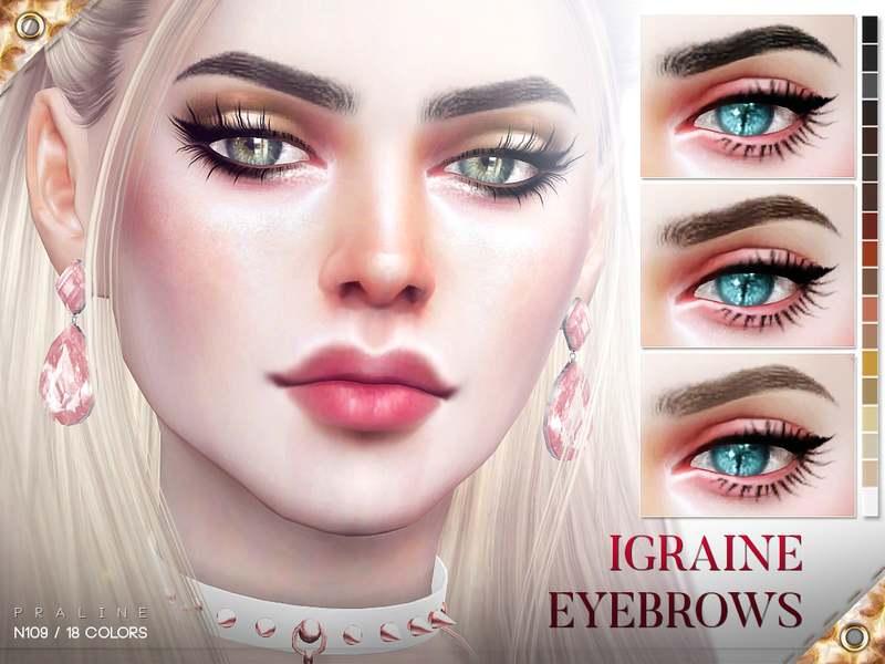 Брови - Igraine Eyebrows N109