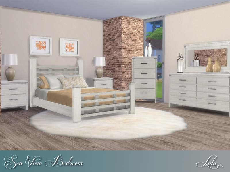 Спальня - Sea View Bedroom