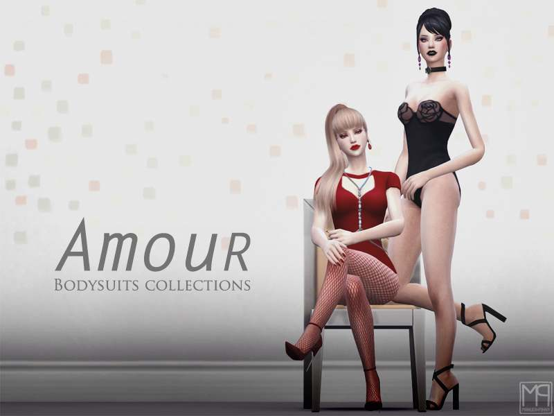 Коллекция боди - Amour collections