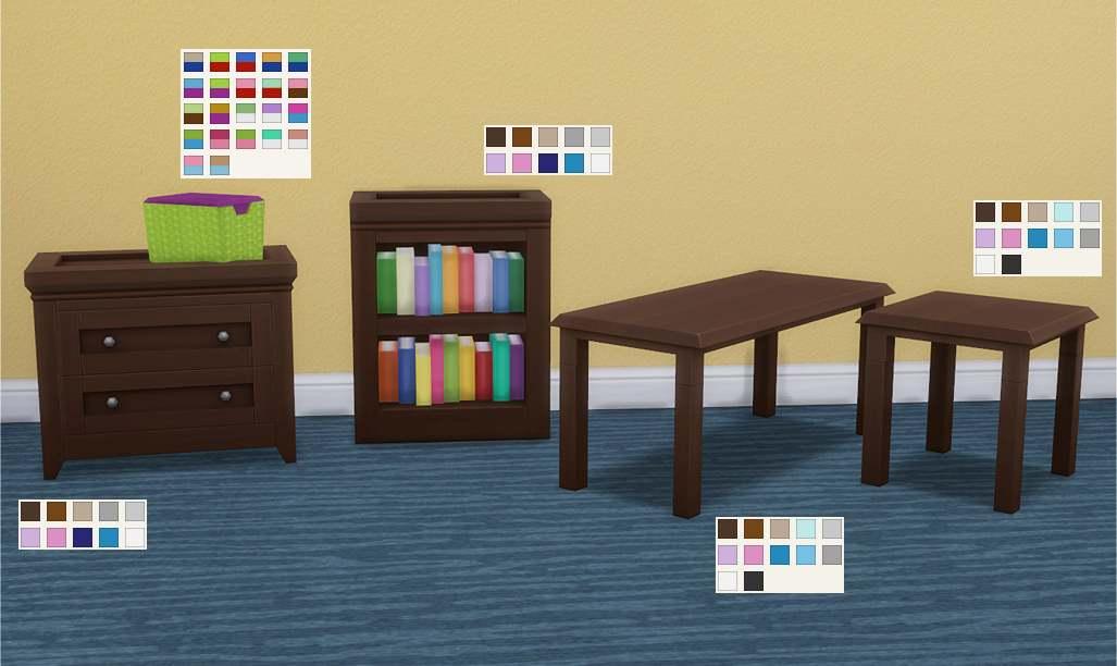 Набор мебели - Kids Room Add-ons