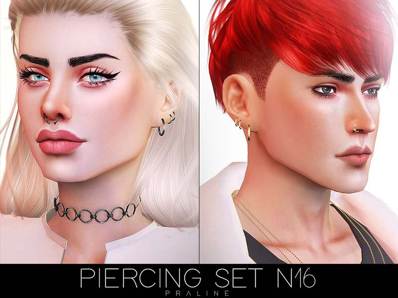 Пирсинг сет - Piercing Set N16