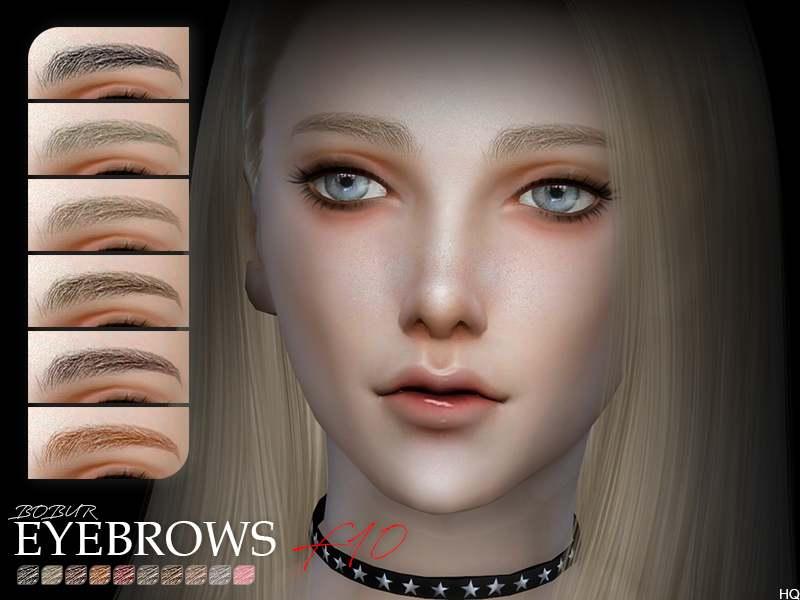 Брови - Bobur Eyebrows F10