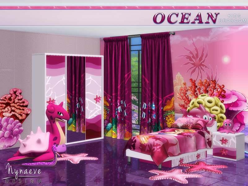 Спальня - Ocean Kids Bedroom