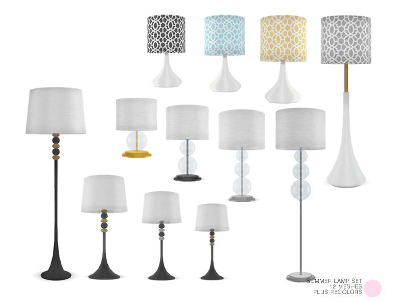 Набор ламп - Summer Lamp Set