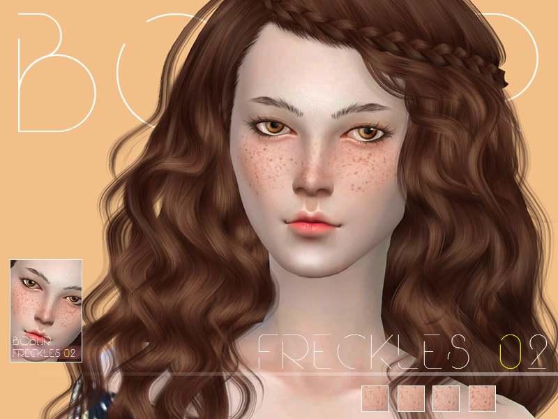 Веснушки - Bobur freckles 02