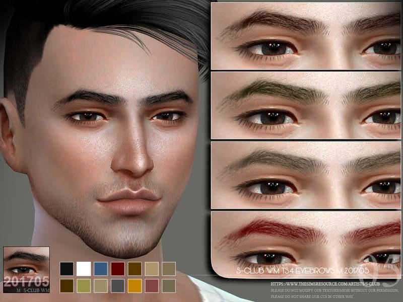 Брови - Eyebrows M 201705