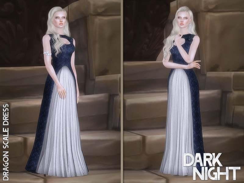 Платье - Dragon Scale Dress