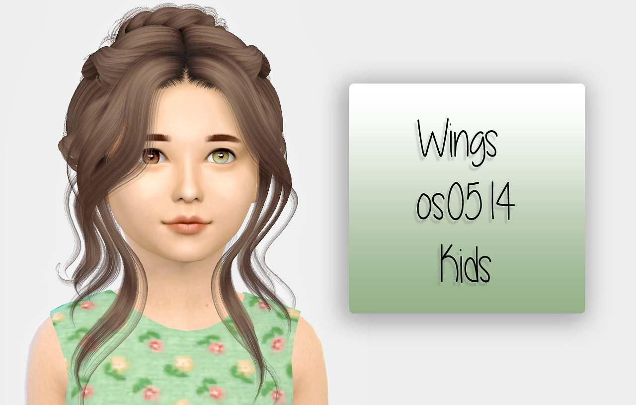 Прическа - Wings Os0514
