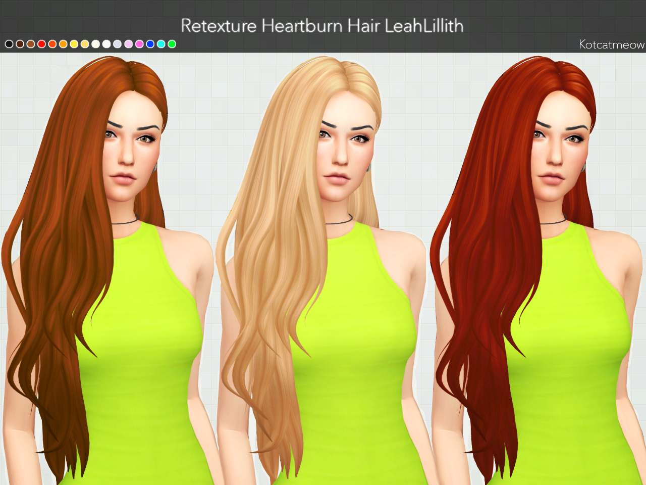 Прическа - LeahLillith Heartburn Hair Clayified