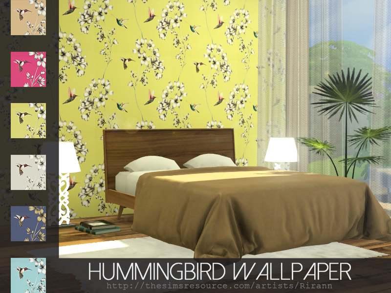 Обои - Hummingbird Wallpaper