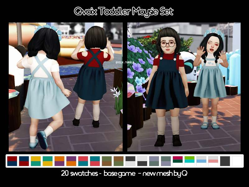 Комплект - Qvoix Toddler Maysie Set