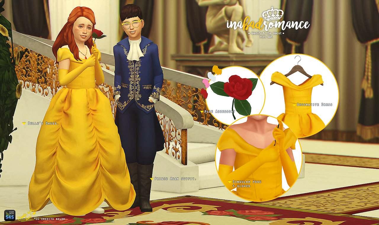 Набор для Красавицы и Чудовища - Beauty & the Beast - mini set