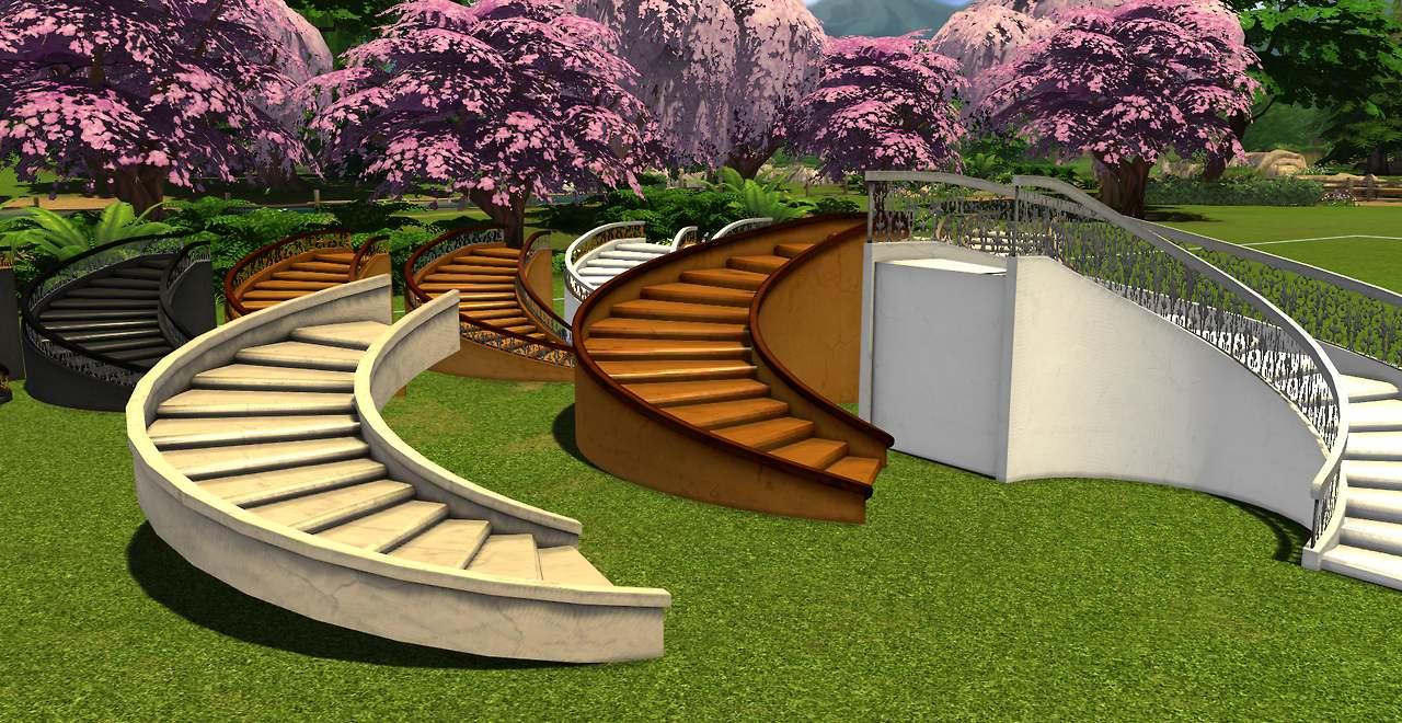 Набор декоративных лестниц - LUNASIMS CASTLE STEPS