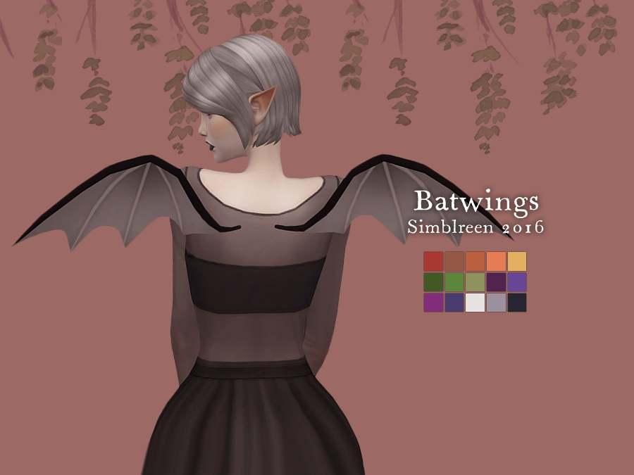 Крылья - Bat Wings