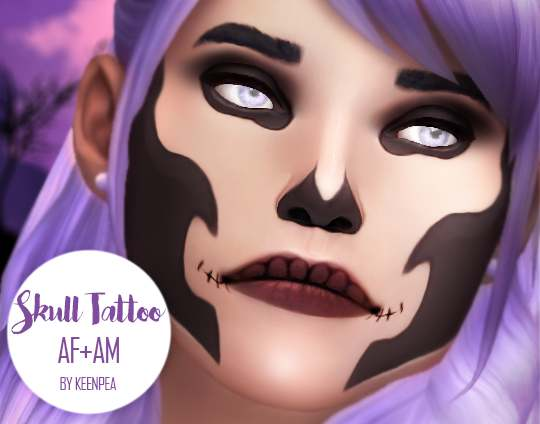 Татуировка - Skull Tattoo