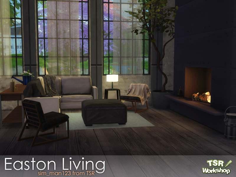 Гостиная - Easton Living Room