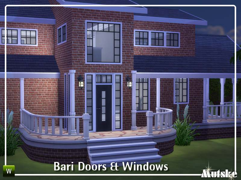 Набор окон, дверей и арок - Bari Doors and Windows Part 2