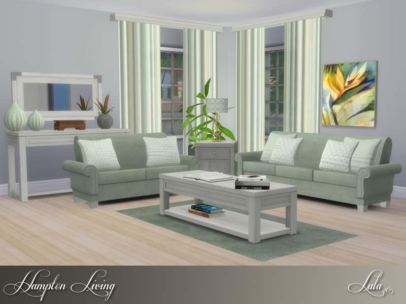 Гостиная - Hampton Living Room