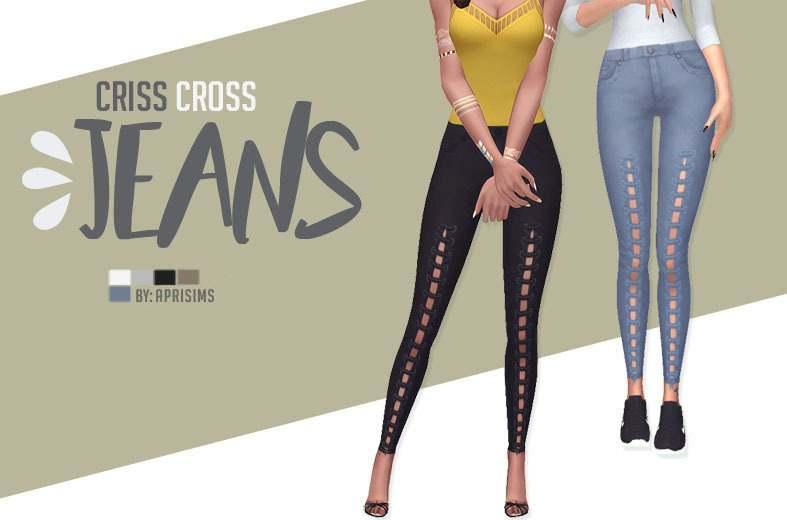 Джинсы - Criss Cross Jeans