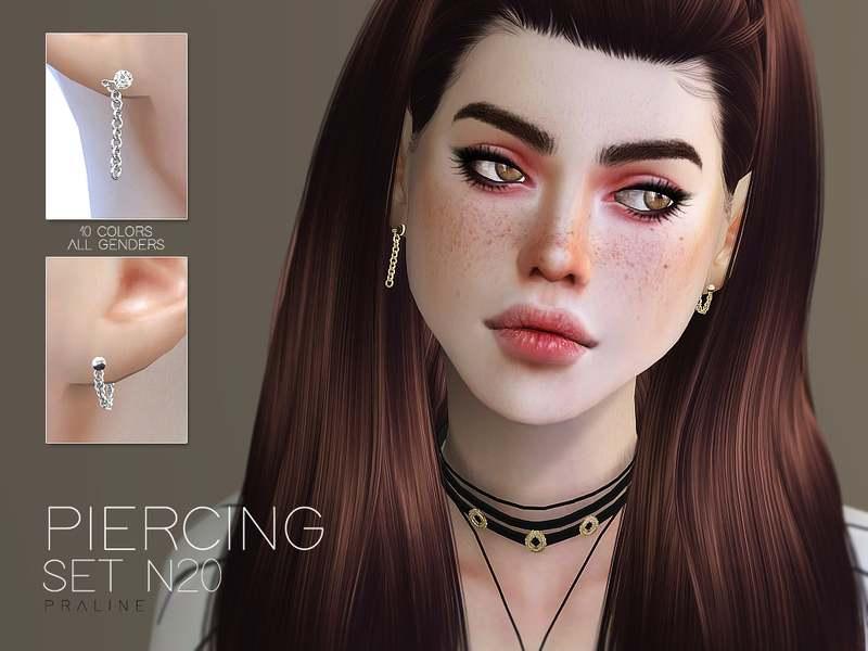 Пирсинг сет - Piercing Set N20