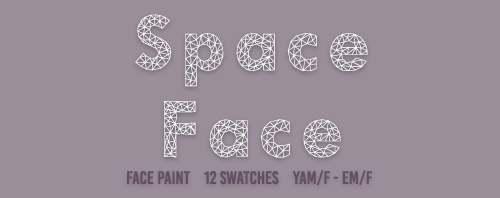 Грим - Space Face