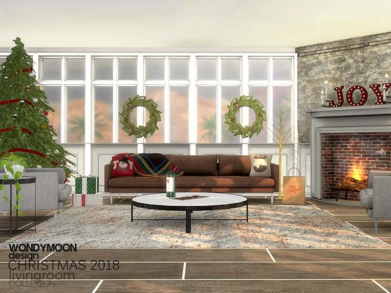 Гостиная - Christmas 2018 Livingroom