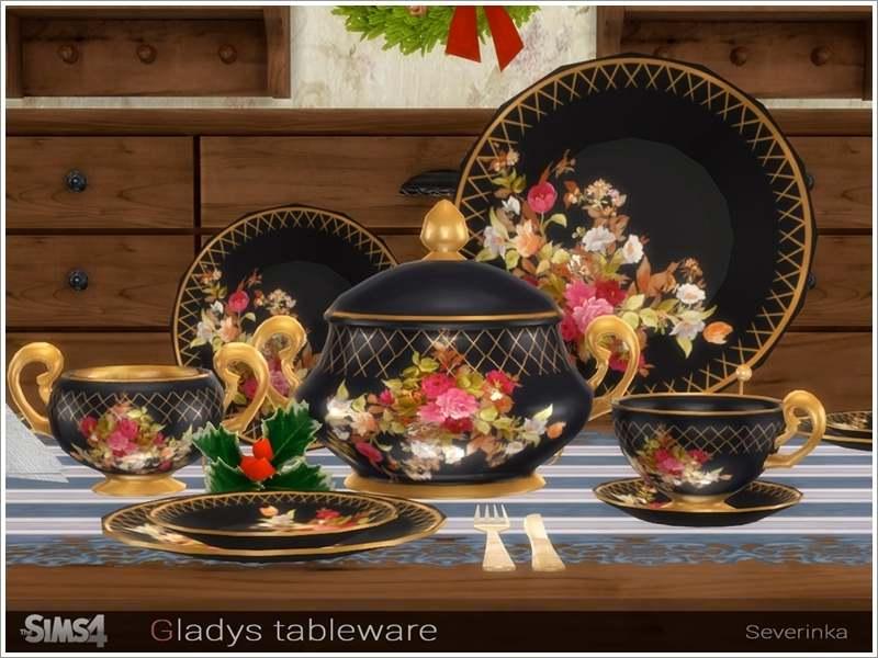 Фарфоровый сервиз - Gladys tableware