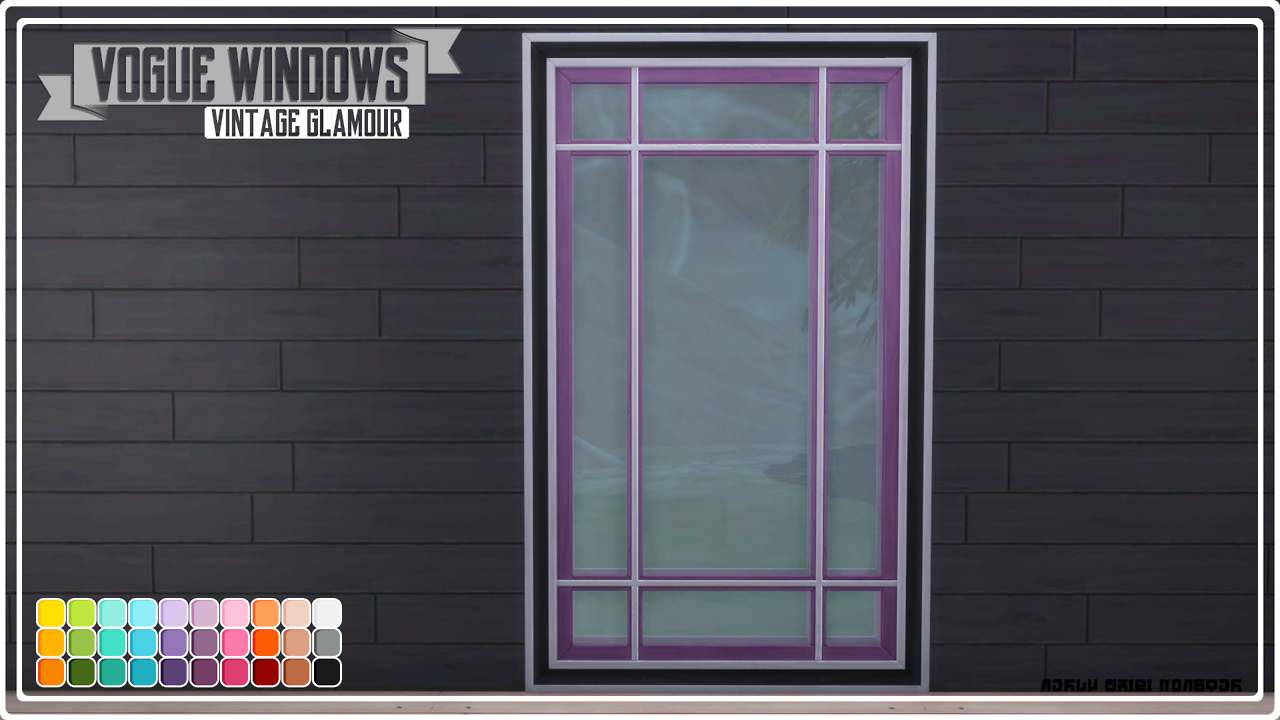 Окно - Vogue Windows