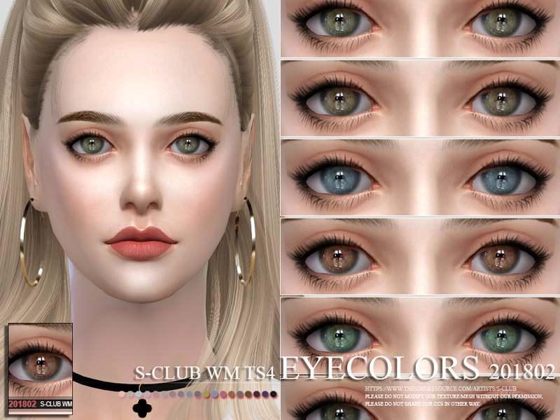 Линзы - Eyecolors 201802