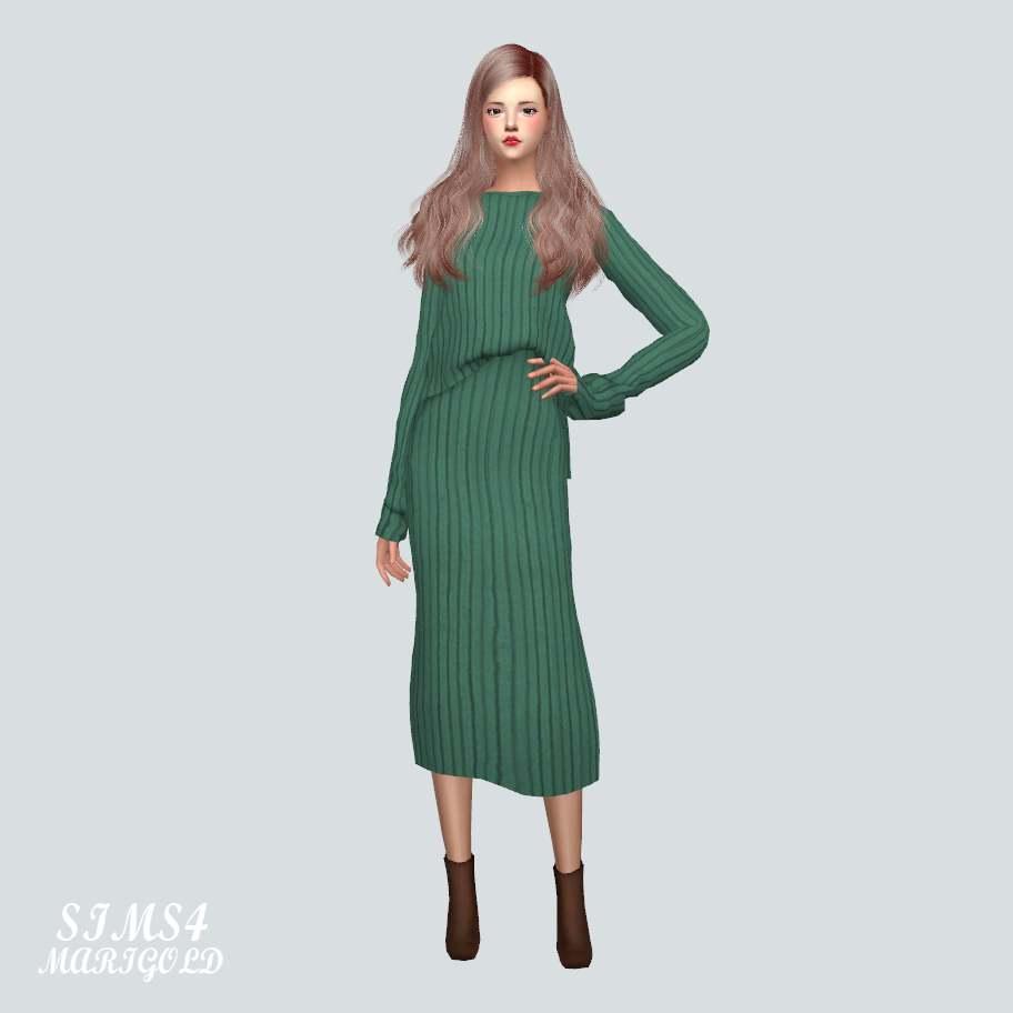Комплект - Two-Piece Dress
