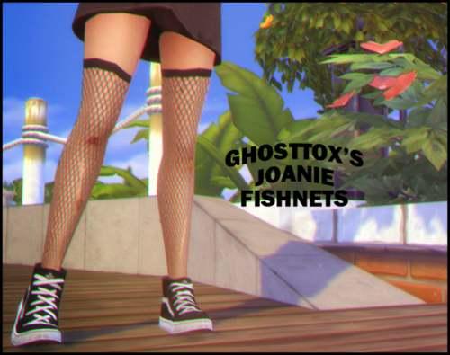 Чулки - Joanie Fishnets