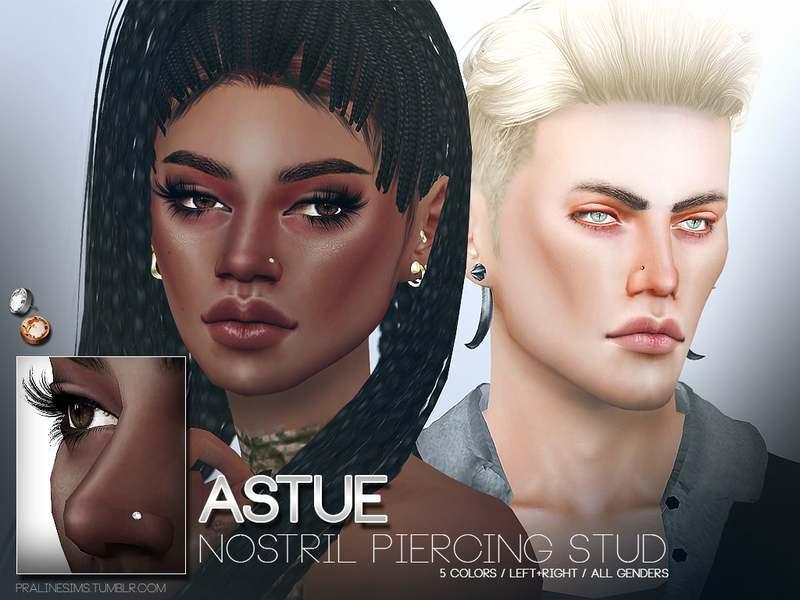 Гвоздик для носа - Astue Nostril Piercing Studs