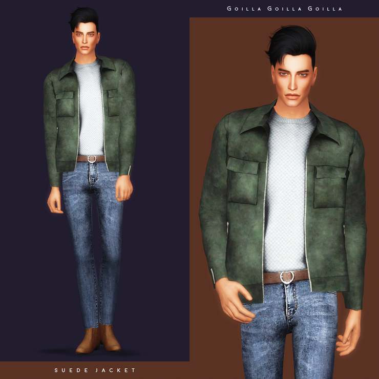Комплект - Suede Jacket