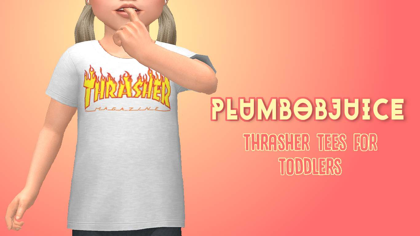 Футболка - Thrasher Tees for Toddlers