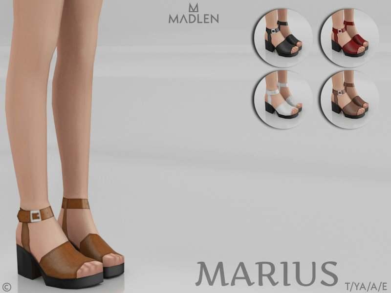Сандалии - Marius