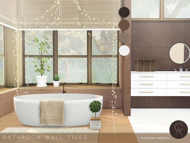 Настенное покрытие - Bathroom Wall Tiles