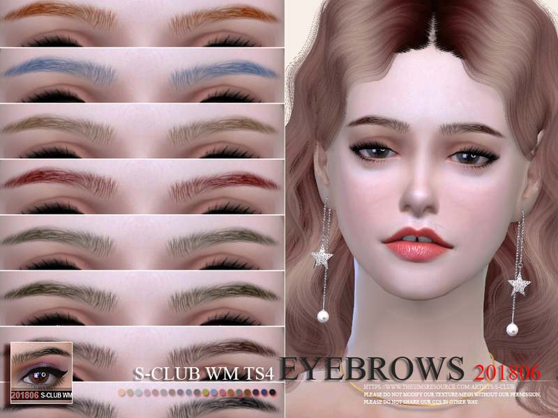 Брови - Eyebrows 201806