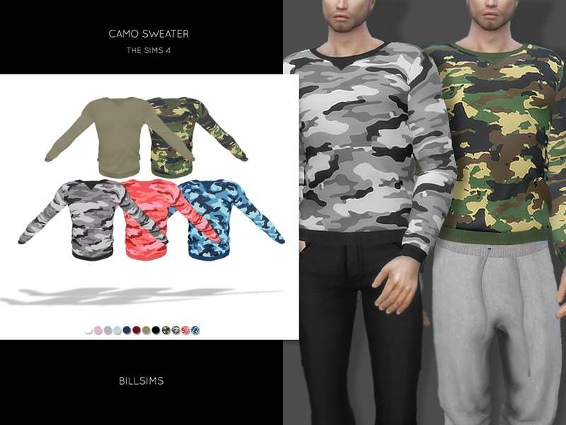 Свитшот - Camo Sweater