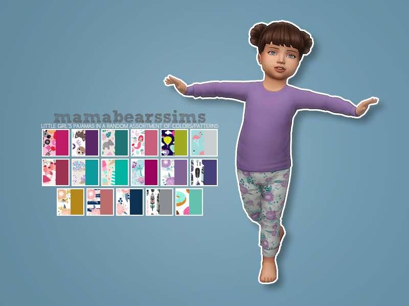 Пижамный комплект - Little Girl's Pajama Set