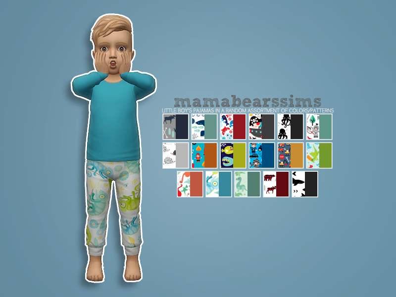 Пижамный комплект - Little Boy's Pajama Set