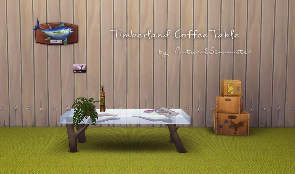 Кофейный столик - Timberland Coffee Table Conversion