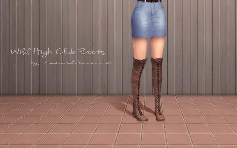Сапоги - Wild High Club Boots