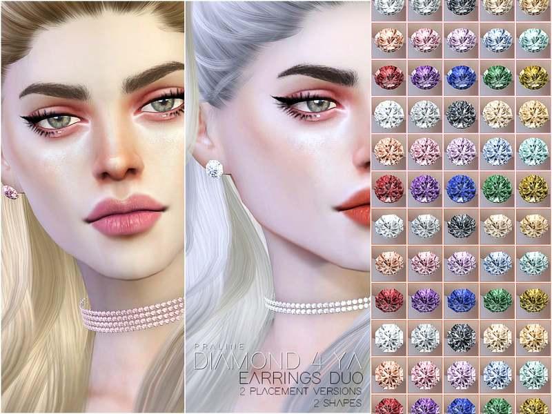 Серьги - Diamond 4 Ya - Earrings Duo